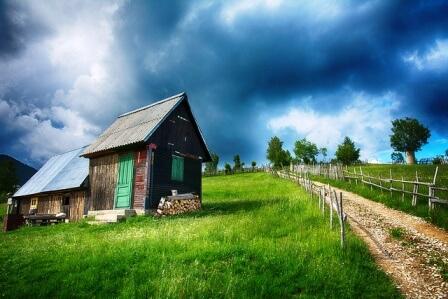 Фотографий необычных облаков и грозовых туч