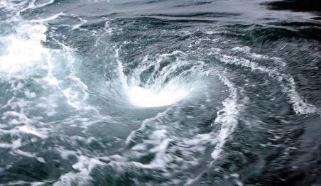 черная дыра в океане
