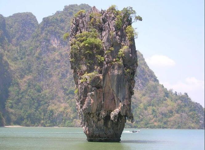 Тайланд, скала парус