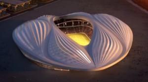 Стадион в Катаре - это что-то из научной фантастики