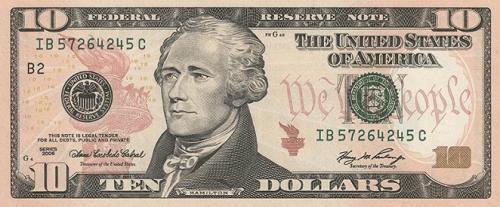 10 долларов США