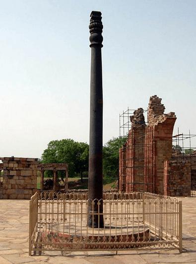 Нержавеющий столб из железа