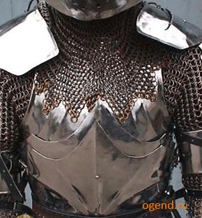 Современный бронежилет сродни древним латам и кольчугам