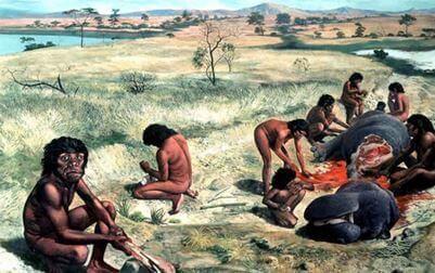 добыча пищи древними