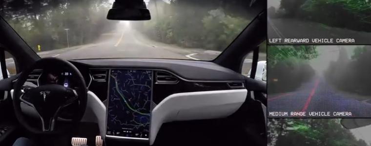 Что на самом деле «видит» на дороге автопилот Tesla