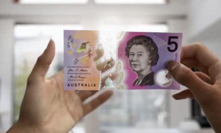 Новое поколение австралийских банкнот