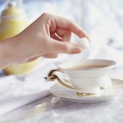 сахар в чай