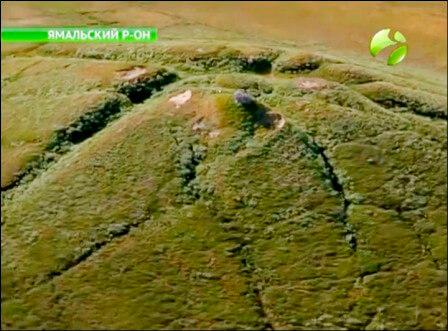 газовый пузырь на Ямале