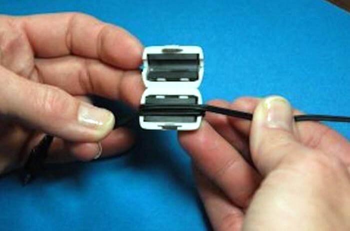 цилиндр-компьютер -кабель
