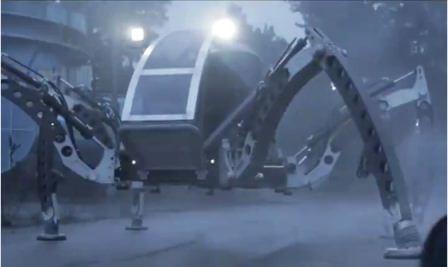 робот -6-ног