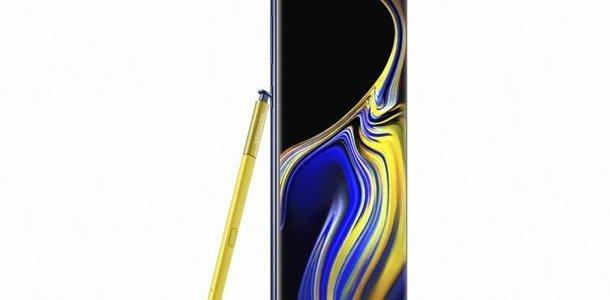 Дисплей Samsung Galaxy Note 9  самый совершенный в мире