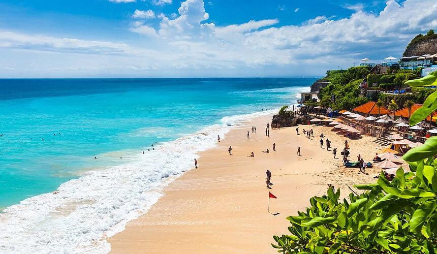 бали пляж