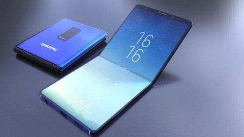 сиартфон-складывающийся Самсунг