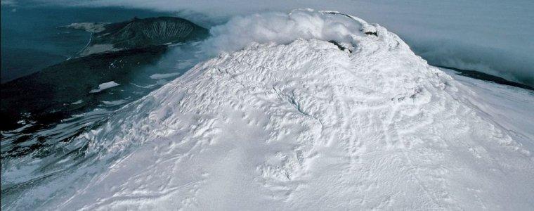 Обнаруженный лавовый бассейн горы Майкл имеет ширину в два футбольных поля