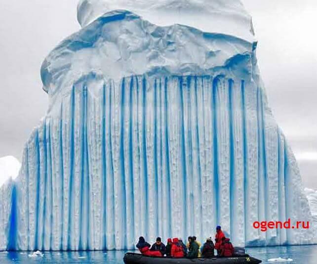 айсберг-расческа