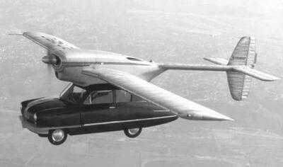 Автомобиль Конвэр (ConvAirCar)