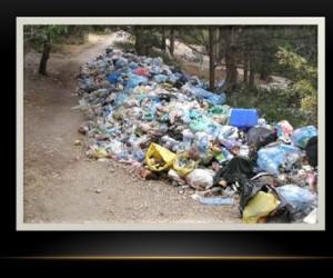 мусор, загрязнение природы