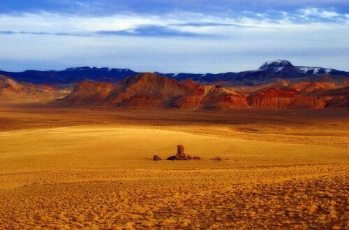Пустыня Блэк-Рок