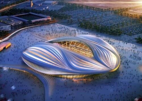 Стадион в Катаре - это что-то из научной фантастики 1