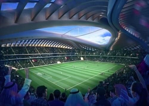 Стадион в Катаре - это что-то из научной фантастики 2