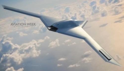 RQ-180 - беспилотный самолет нового поколения