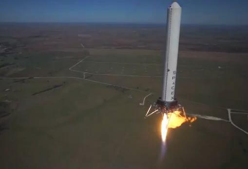 Grasshopper ракета многоразового пользования