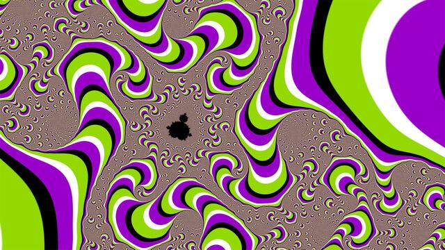 Забавные оптические картинки 1