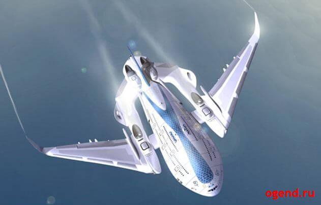 """Концепт """"Небесный кит"""" - авиалайнер нового поколения"""