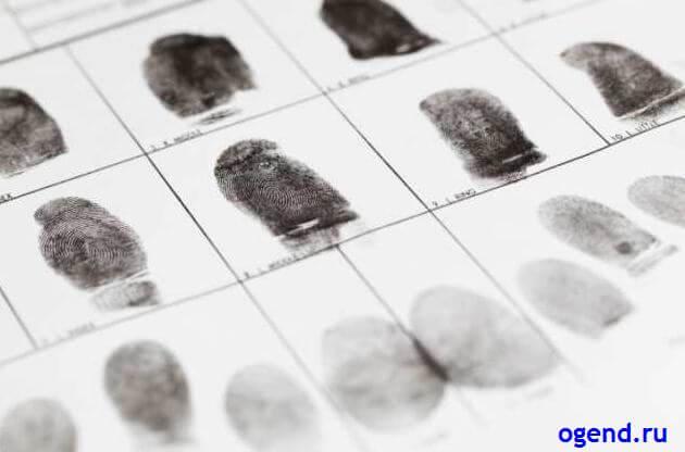 Уникальны ли отпечатки пальцев?