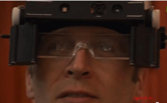 Очки состоят из специальной 3D-камеры на оправе