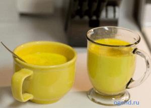 """""""Золотое молоко"""" - напиток жизни и здоровья"""