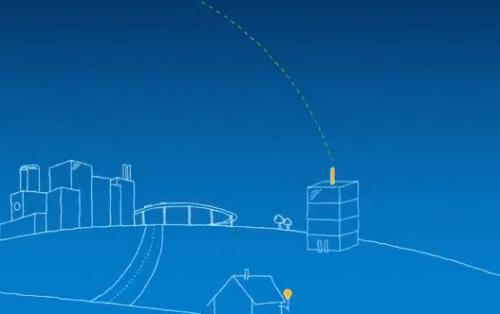 Каждый из этих шаров связывается с соседними шарами, а потом со станцией на земле, которая подключается к локальному интернет-провайдеру