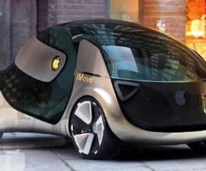 Компания Apple показала фото концепта своего первого автомобиля