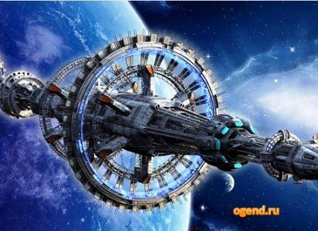 станция для космических путешествий