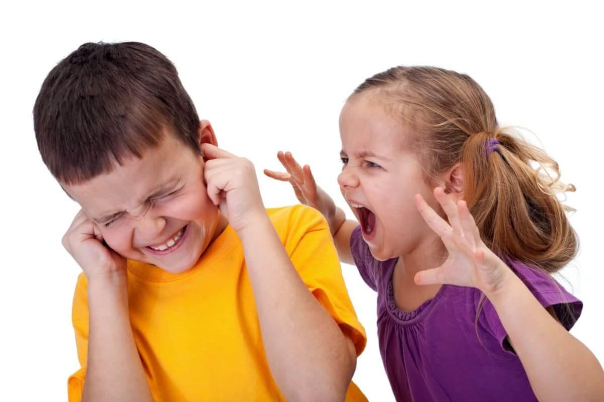 агрессия дети