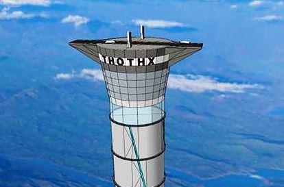 башля-лифт в космос