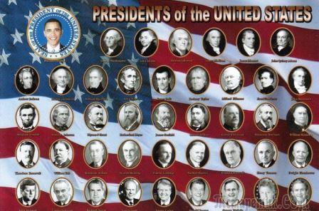 все президенты США - общее фото