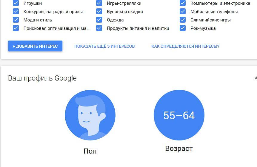 что знает про нас Google