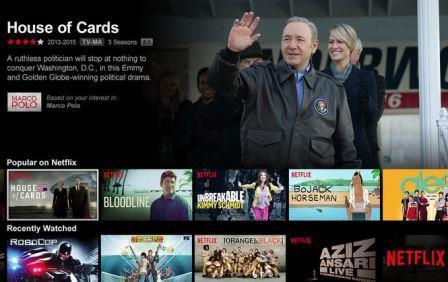 Онлайн-кинотеатр Netflix пришел в Украину и Россию