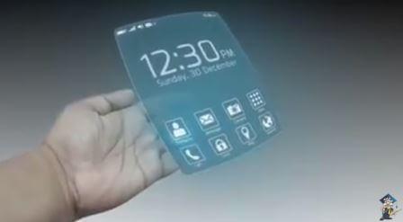 миниатюрный смартфон в виде кольца