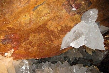 кристаллы селенита