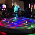 Столик с виртуальной игрой от Sony - будущее дополнительной реальности
