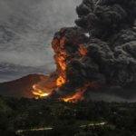 Эти записи звуков вулканического грома сделаны впервые