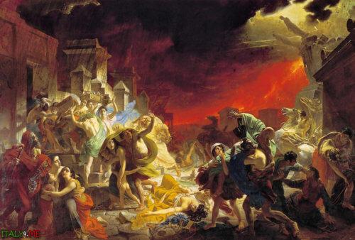 картина-последний день Помпеи