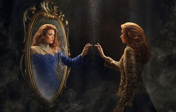 зеркало-отражение