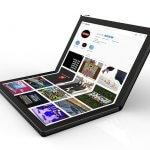 Lenovo внедряет технологию гибкого экрана в совершенно новый гаджет