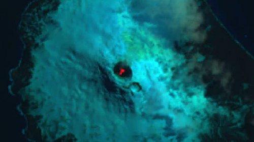 вулкан-лава-озеро