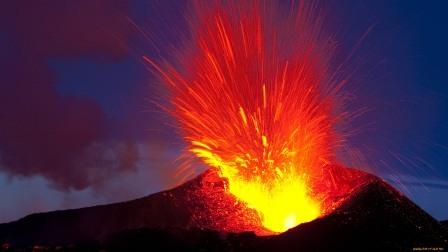 вулкан взрыв