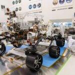 Видео: NACA сделала первый тестовый запуск нового марсохода.