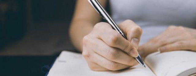 письмо рукой